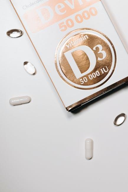 D3 pills